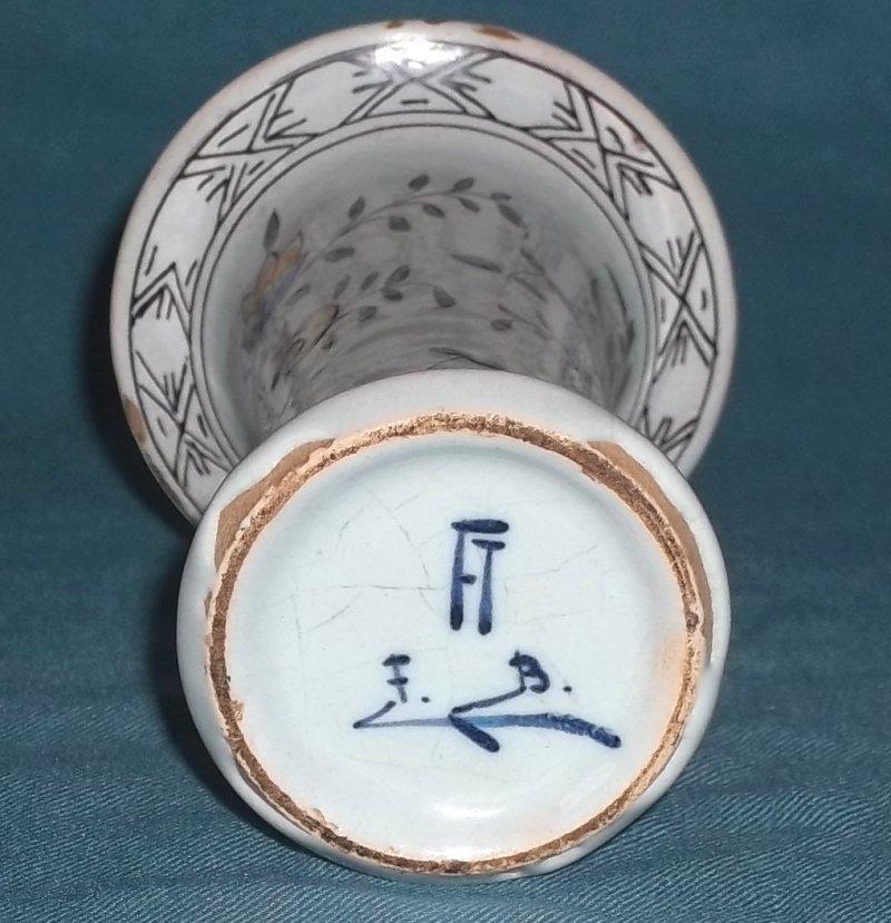 Faience spill vases 100_1964