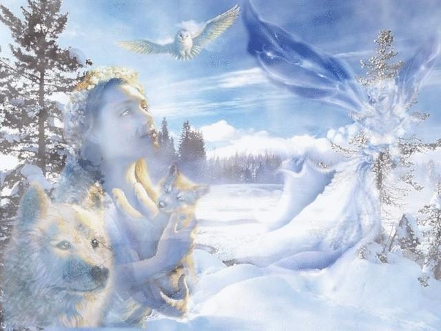 Féerie d'hiver (images inspiratrices décembre 2014 - archivage des textes) Loup_n10