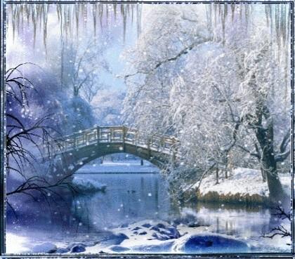 Féerie d'hiver (images inspiratrices décembre 2014 - archivage des textes) Pont_n10