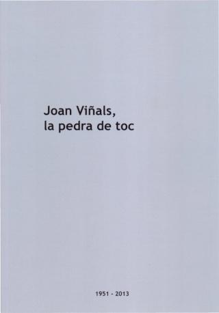 Llibret In memoriam Joan Viñals Portad10