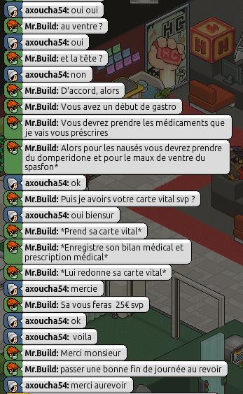[Mr.Build] Rapports Médicaux [C.H] - Page 2 217