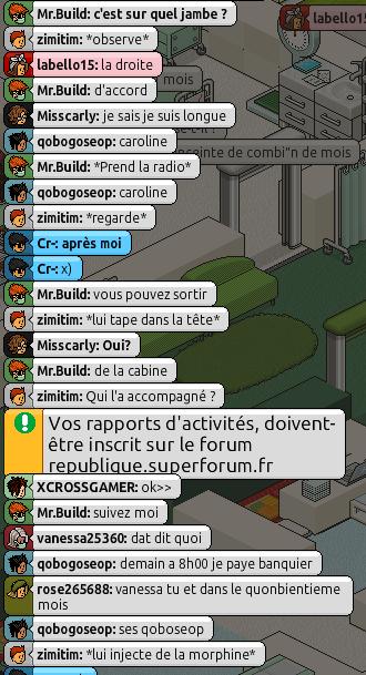 [Mr.Build] Rapports Médicaux [C.H] - Page 2 242