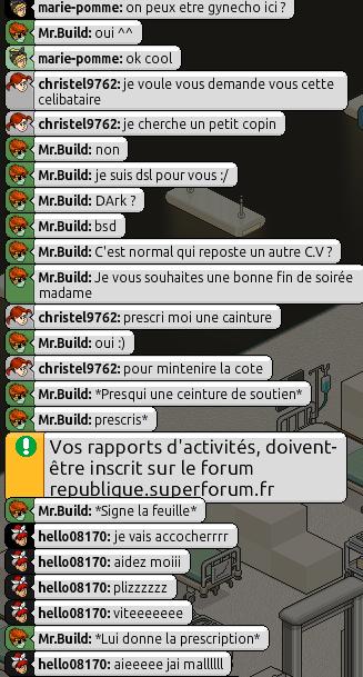 [Mr.Build] Rapports Médicaux [C.H] - Page 2 248