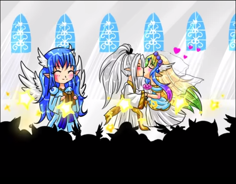 Mariage Ange-Tsuki : soirée spéciale jeux Captur11