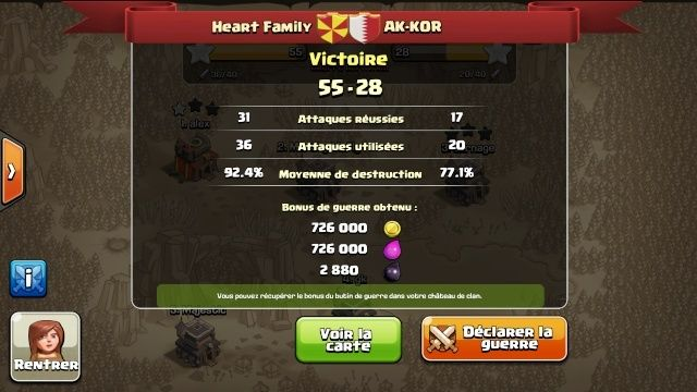[VICTOIRE] Heart Family vs AK-KOR Screen15