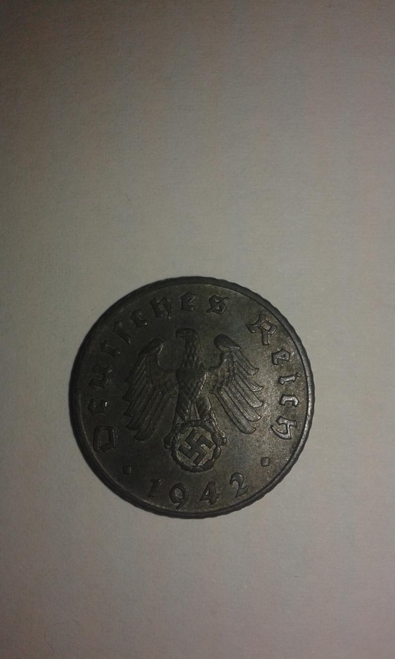 5 Reichspfennig 1942 F 4210