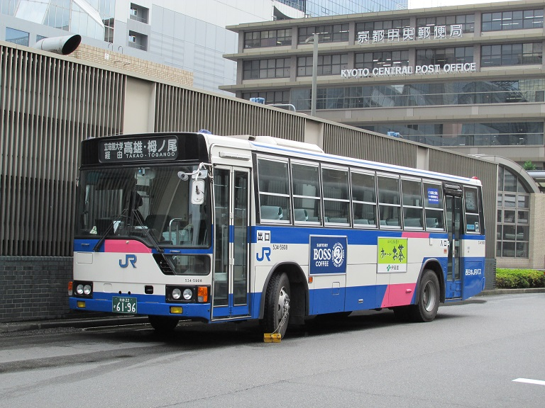 [2014年の夏][京都市] 西日本JRバス Img_0115