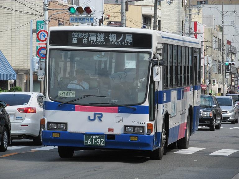 [2014年の夏][京都市] 西日本JRバス Img_0810