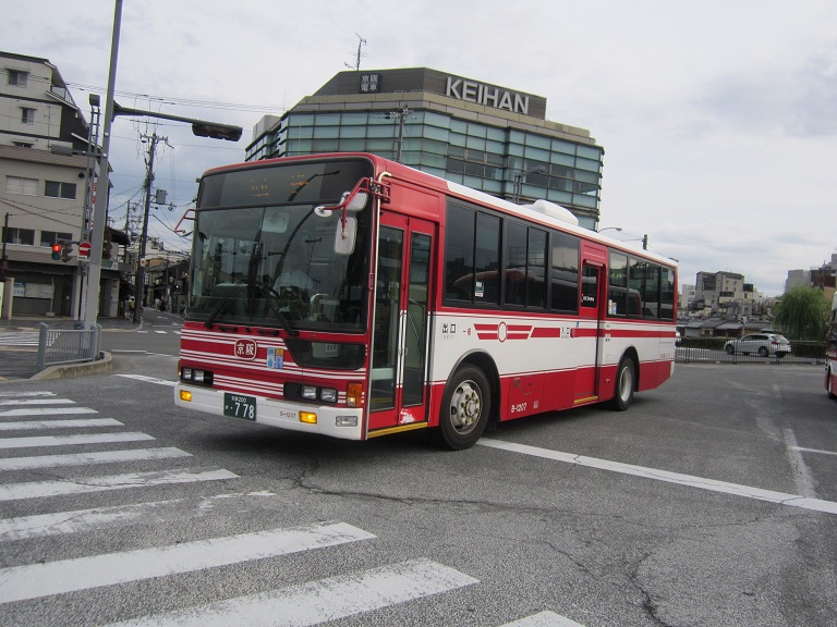 [2013年の夏][京都市] 京阪バス Img_3423