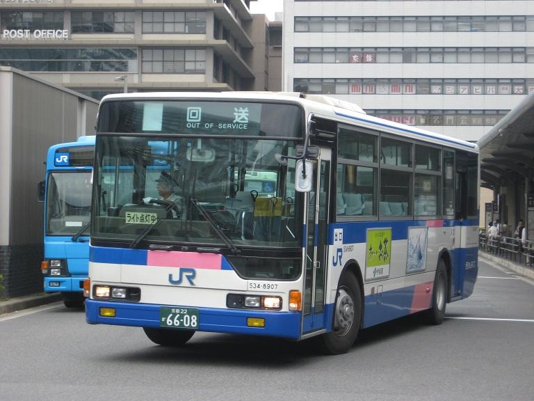 [2014年の夏][京都市] 西日本JRバス Img_3917