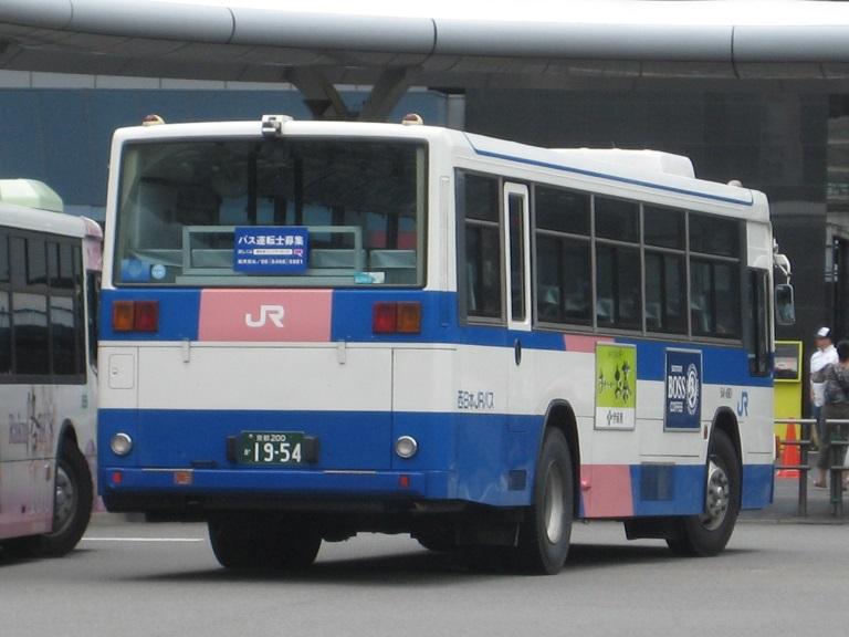[2014年の夏][京都市] 西日本JRバス Img_4119