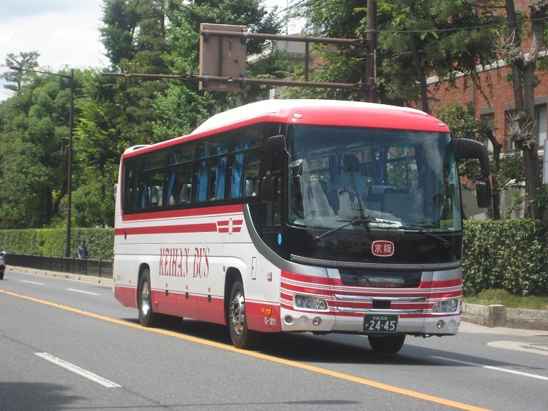 [2014年の夏][京都市] 京阪バス Img_5110