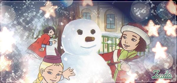 Le père Noël ammène sa hotte remplie de cadeaux pour tous les enfants sages! Zudasi10