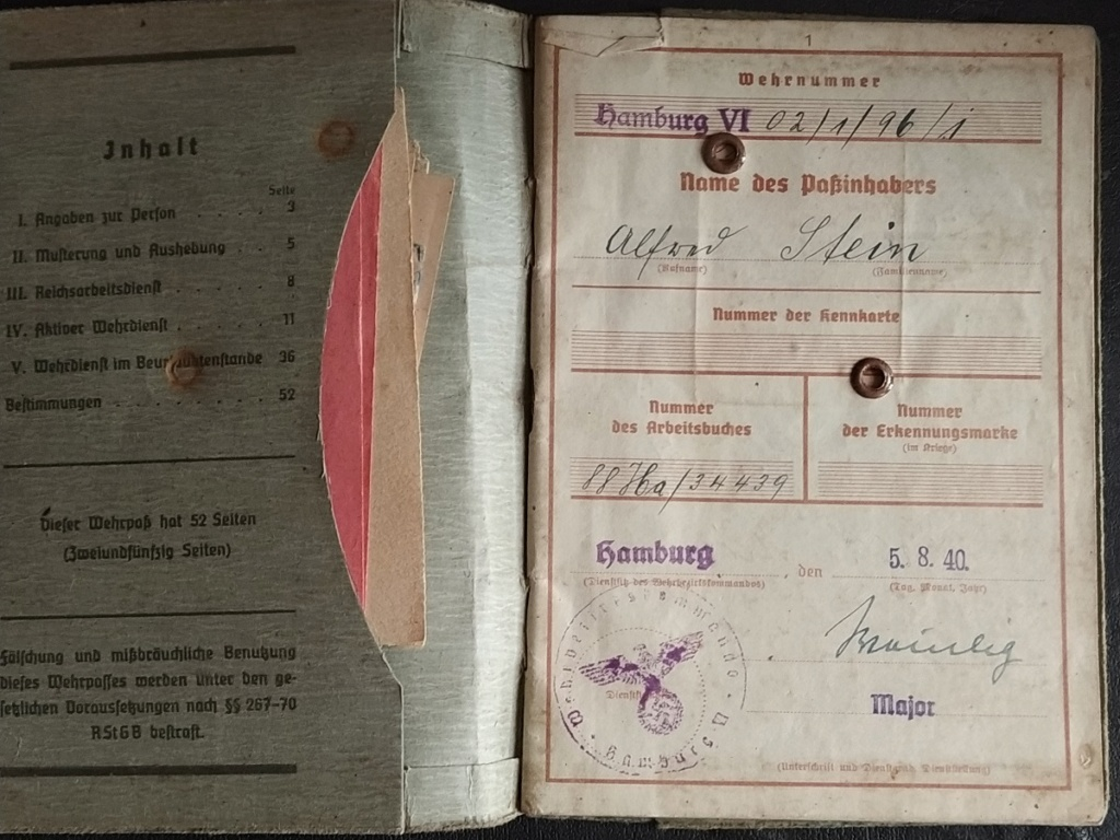 3 Wehrpass pour identifier  Img_2068