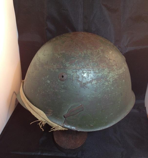 Une casque M.33 des Alpini , réutilisé par le F.F.I. ! Img_5511