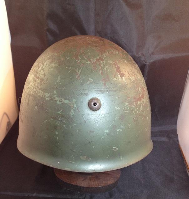 Une casque M.33 des Alpini , réutilisé par le F.F.I. ! Img_5512
