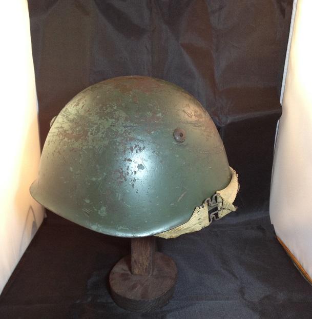 Une casque M.33 des Alpini , réutilisé par le F.F.I. ! Img_5513