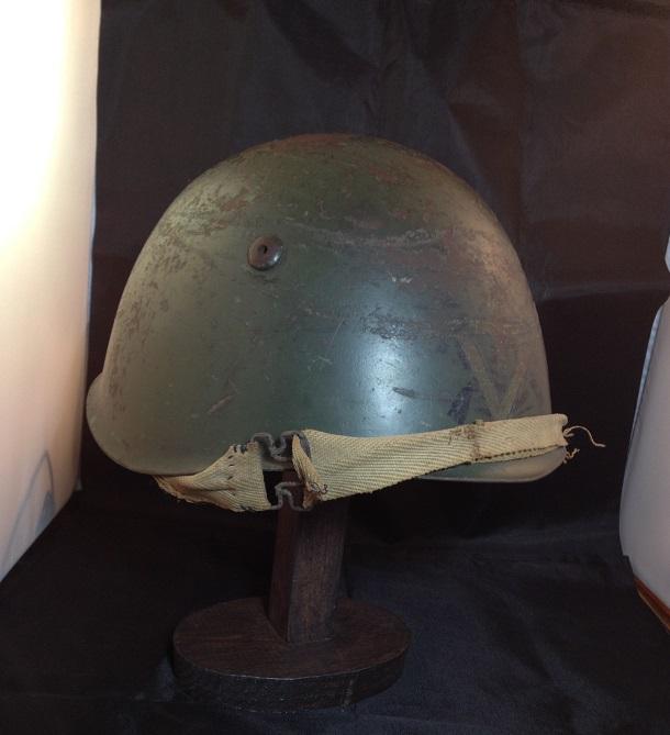 Une casque M.33 des Alpini , réutilisé par le F.F.I. ! Img_5514