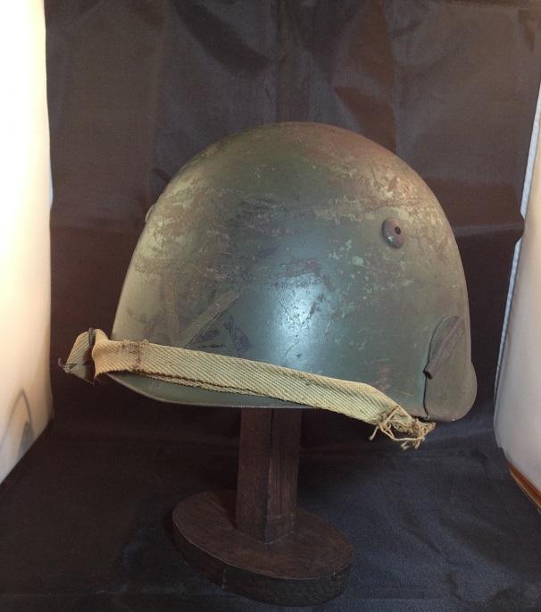 Une casque M.33 des Alpini , réutilisé par le F.F.I. ! Img_5515