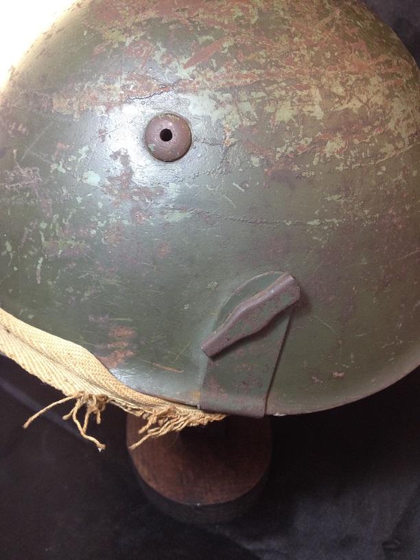 Une casque M.33 des Alpini , réutilisé par le F.F.I. ! Img_5517