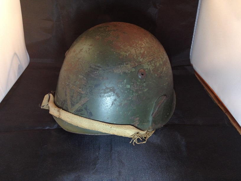 Une casque M.33 des Alpini , réutilisé par le F.F.I. ! Img_5522