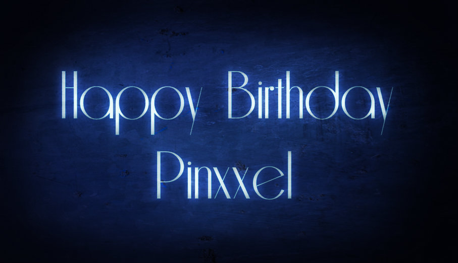 Happy Birthday Pinxxel Neonpi10
