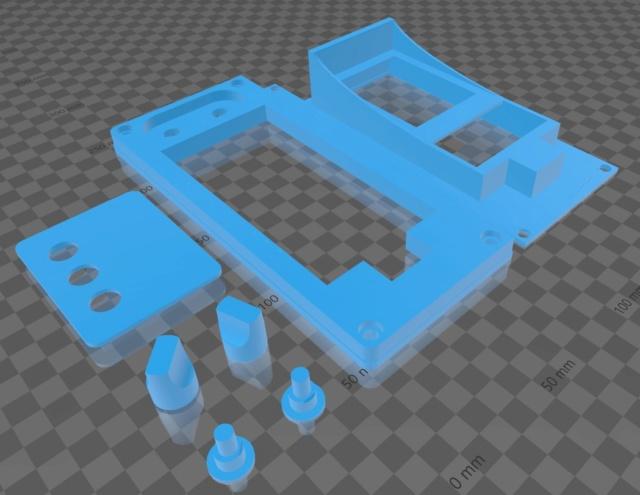 Refaire un cache plastique de carénage (impression en 3D) Voltme10