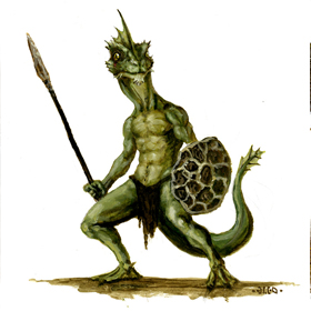 Monstros de Faerun Lizard10