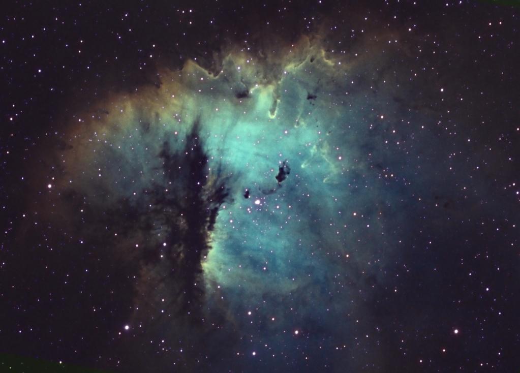 NGC281 Pacman a pris des couleurs... Mixsho12