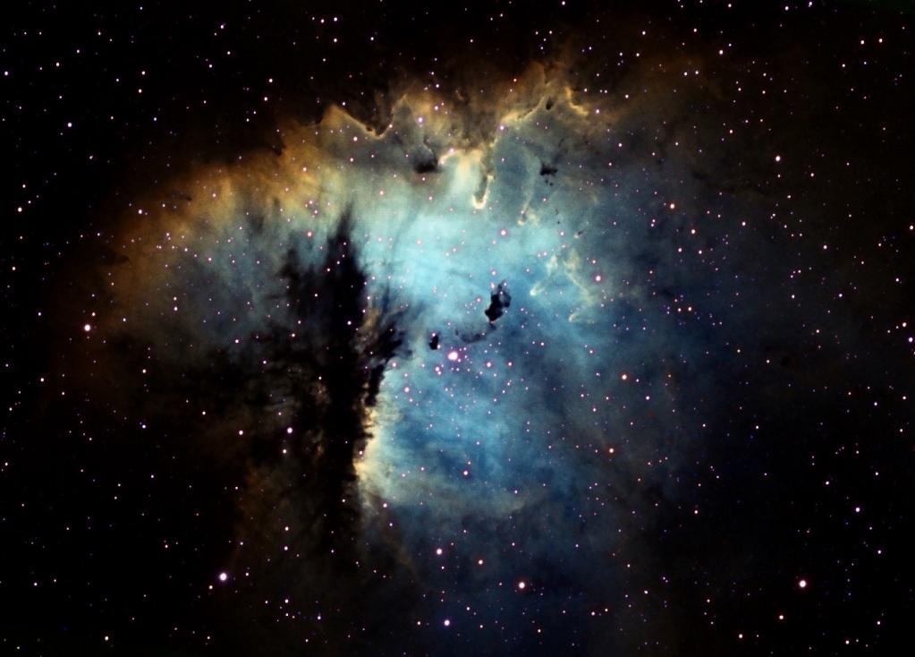 NGC281 Pacman a pris des couleurs... Mixsho13