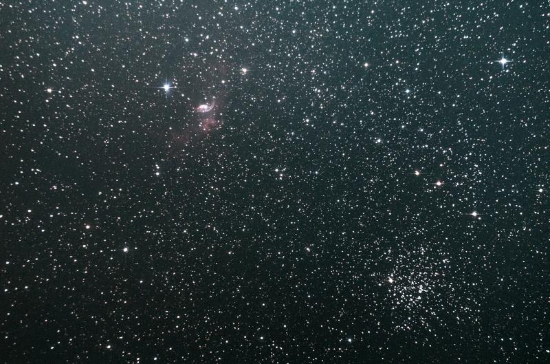 NGC 7635 ( Nébuleuse de la Bulle ) et M52 Ngc_7610
