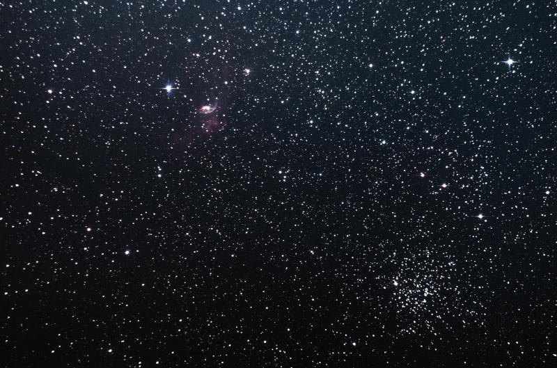 NGC 7635 ( Nébuleuse de la Bulle ) et M52 Ngc_7611