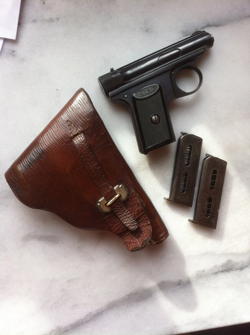SAUER et SOHN 1913 ou 1919 calibre 6.35 02410