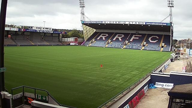 Pitch being relaid Pitchm10