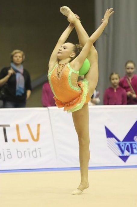 Чемпионат Латвии по художественной гимнастике 2014 (Лиепая) Cl1010