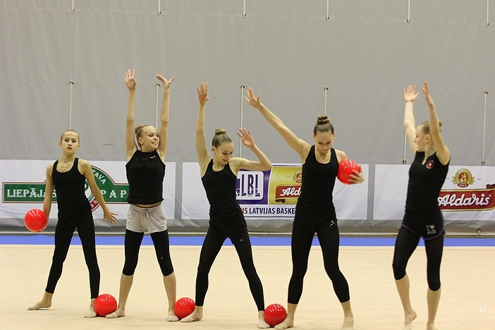 Чемпионат Латвии по художественной гимнастике 2014 (Лиепая) Cl311