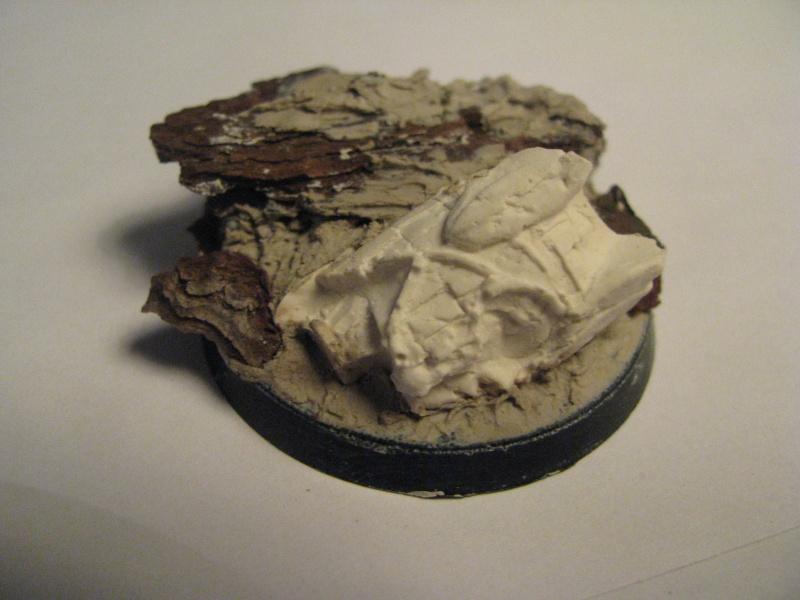 Tutoriel socle de cavalerie statue antique brisée Img_2512