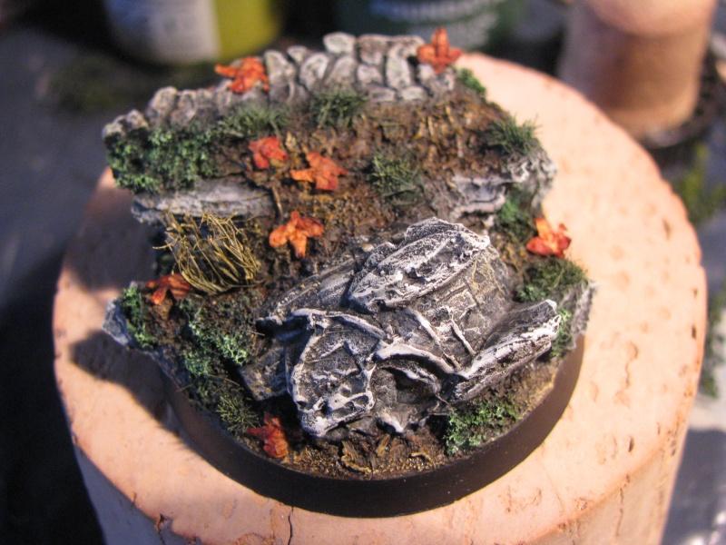 Tutoriel socle de cavalerie statue antique brisée Img_2618