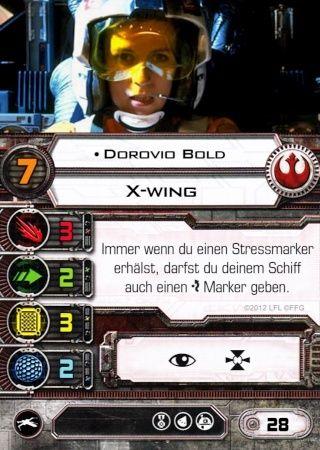 X-Wing: Dorovio Bold 0210