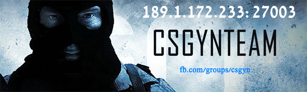 #csgyN Team - Counter-Strike 1.6 e GO.