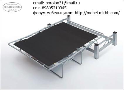 Механизмы трансформации мебели французская раскладушка Aiaia_10