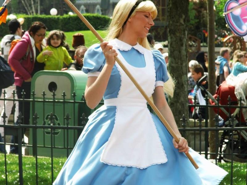 Vos photos avec les Personnages Disney Alice10