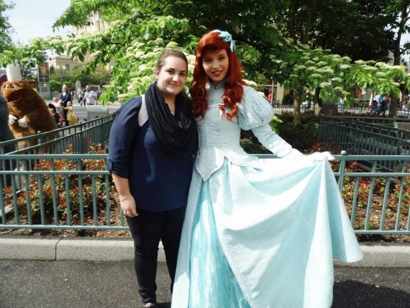 Vos photos avec les Personnages Disney Ariel_10