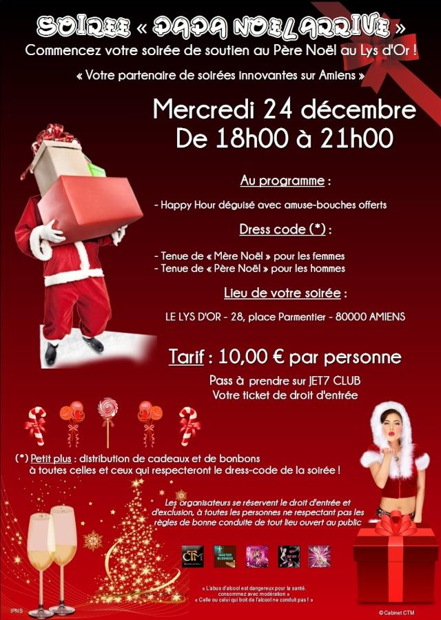 Papa Noël arrive Le_lys11
