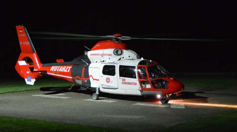 Johanniter Luftrettung in Bad Ems  D-hfkg10