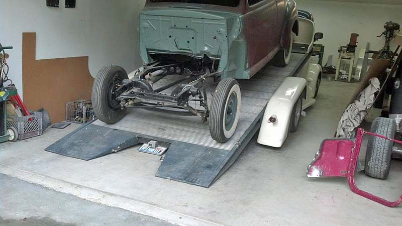 FORD 1938 COE hauler de DENNY OLSON : terminé Img_7815