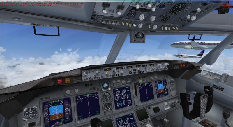 rapport du vol en formation en  737 de LEMD -----LFBG 2014-112