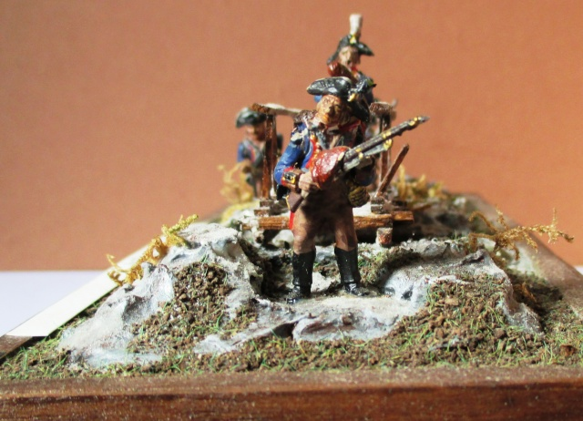 grenadiers  Von Losthing.Regt Winning .28 MM Photo_12