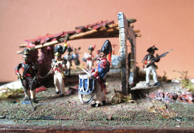 UNIFORMES ESPAGNOLES EN 28 mm . Sous le Premier empire.  Photo_18