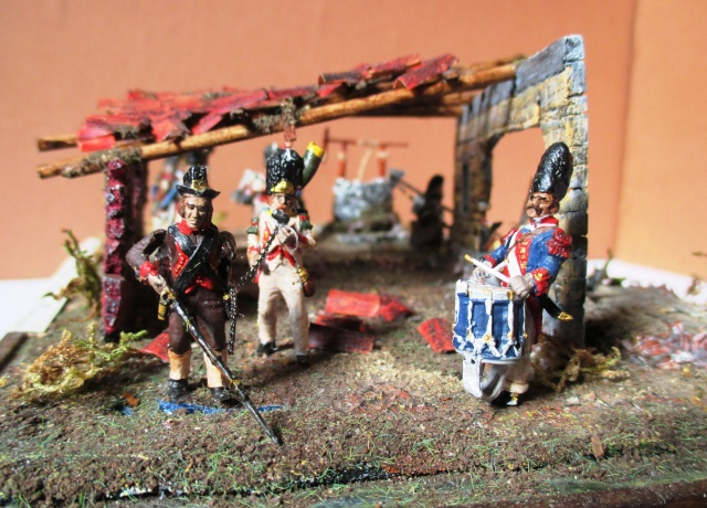 UNIFORMES ESPAGNOLES EN 28 mm . Sous le Premier empire.  Photo_19